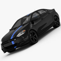 Dodge Dart Mopar 13 2013 3D Model