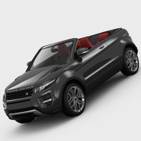 Range Rover Evoque Convertible 2013 3D Model