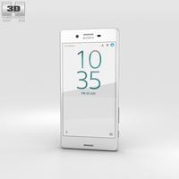 Sony Xperia X Performance White 3D Model