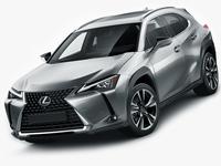 Lexus UX 2019 3D Model