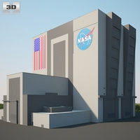 NASA Vehicle Assembly Building 3D Model