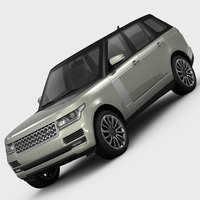 Range Rover Vogue L405 2013l 3D Model