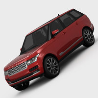 Range Rover Supercharged L405 2013 3D Model