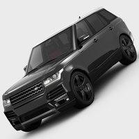 Range Rover STARTECH L405 2013 3D Model