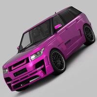 Range Rover Mystere Hamann 2013 3D Model