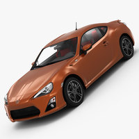 Toyota GT86 2013 3D Model