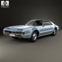 Oldsmobile Toronado 1966 3D Model