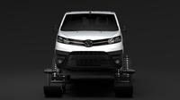 Toyota ProAce Van Ski 2018 3D Model