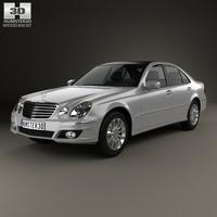 Mercedes-Benz E-Class (W211) 2006 3D Model