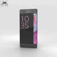 Sony Xperia XA Graphite Black 3D Model