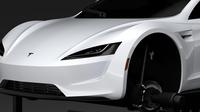 Tesla Roadster Ski 2018 3D Model