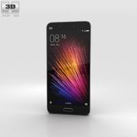 Xiaomi Mi 5 Black 3D Model