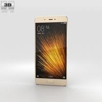 Xiaomi Mi 5 Gold 3D Model