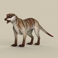 Game Ready Meerkat 3D Model