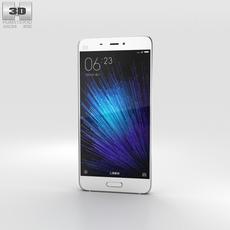 Xiaomi Mi 5 White 3D Model
