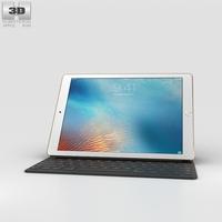 Apple iPad Pro 9.7-inch Gold 3D Model