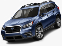 Subaru Ascent 2019 3D Model