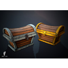 22 43 36 584 treasure chest boney toes 3d game asset 4