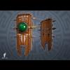 06 23 52 450 3d aztec shield game art boney toes 4