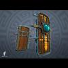 06 24 10 695 3d mayan shield game prop boney toes 4