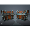 07 08 50 881 treasure chest pirate boney tones 3d game asset 4