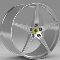 Ferrari 458 Spider rim 3D Model