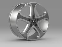 Mercedes Benz G-Class spy rim 3D Model