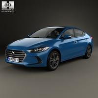 Hyundai Elantra (CN) 2017 3D Model