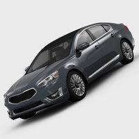 KIA Cadenza Premium 2014 3D Model