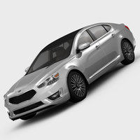 KIA Cadenza Limited 2014 3D Model