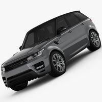 Range Rover Sport Autobiography 2014 3D Model
