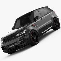 Range Rover Sport Startech 2014 3D Model