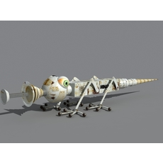 Bug Robot 3D Model