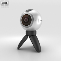 Samsung Gear 360 Camera 3D Model
