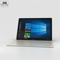 Huawei MateBook Gray 3D Model
