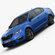 Skoda Octavia RS 2014 3D Model