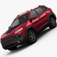 Jeep Cherokee Trailhawk 2014 3D Model
