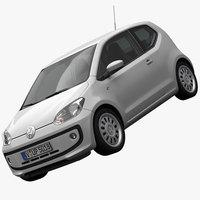 Volkswagen up 2013 3D Model