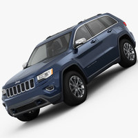 Jeep Grand Cherokee 2014 3D Model