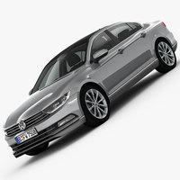 Volkswagen Passat 2015 3D Model