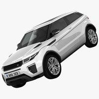 Range Rover Evoque 2016 3D Model