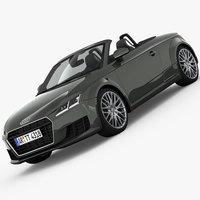 Audi TT Roadster 2015 3D Model