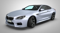 BMW 6 gran coupe 3D Model