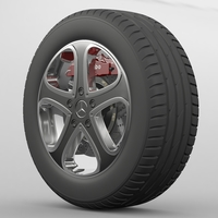 Wheel Mercedes Benz G-Class 3D Model