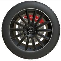 Mercedes Benz Wheel 2 3D Model