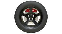 srt wheel 3D Model