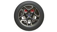 subaru wheel 3D Model