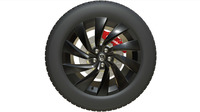 volkswagen wheel 3D Model