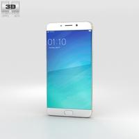 Oppo R9 Plus Gold 3D Model