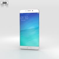 Oppo R9 Plus Rose Gold 3D Model